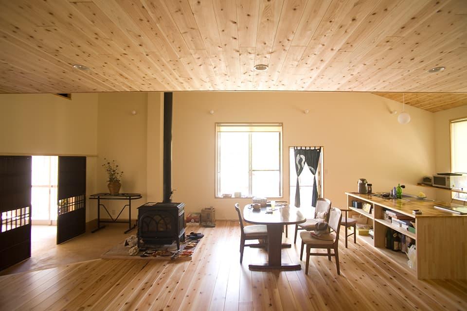 高床式住宅の施工例1