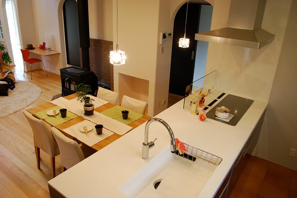 高床式住宅の施工例2