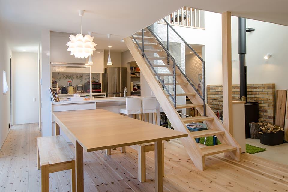 高床式住宅の施工例3