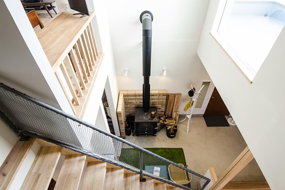 高床式住宅の施工例4