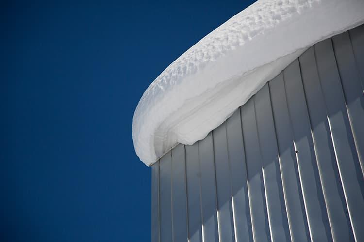 高床式住宅の性能(新潟の雪)