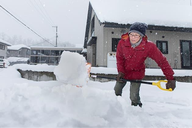 GRANDEの魅力01 雪に強い
