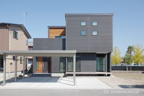 木と石のコラボレーションハウス ハーバーハウス長岡支店