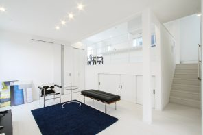 シンプルモダン×エレガント・開放的なDKのあるスキップフロアの家 ハーバーハウス長岡支店
