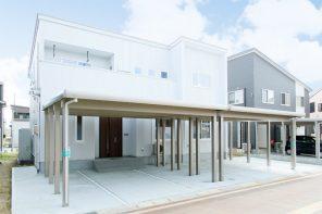 長岡市上条高畑「MIRAI 世帯ごとの住み心地の良さを考えた二世帯住宅」住宅完成見学会