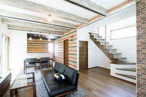 建物を最大限に活用 玄関とリビングがつながる開放的な家 ハーバーハウス長岡支店