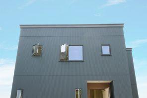 上越市春日新田「バルコニーで景色を楽しむシンプルナチュラルハウス」住宅完成見学会