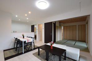 ほどよい距離感・玄関共用二世帯住宅 ハーバーハウス長岡支店