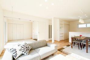 長岡市土合「GRANDE 空間をすっきりと使う、収納充実の家」住宅完成見学会