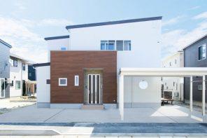 長岡市希望が丘「木の温かみを感じる、開放的なLDKの家」住宅完成見学会