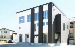 長岡市宮内「VISTA 店舗併用3階建て二世帯住宅」住宅完成見学会