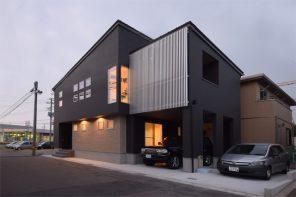 2階リビング・鉄骨階段の家 ハーバーハウス長岡支店