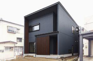 建築家による京町屋風モダン住宅 ハーバーハウス長岡支店