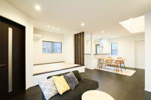 畳小上がりのシンプルに暮らすモダンハウス ハーバーハウス長岡支店
