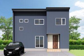 長岡市上前島「大空間LDKのコートハウス」住宅完成見学会