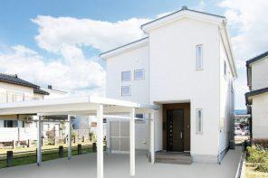 長岡市下山「ペールトーンでコーディネートした床暖房のある家」住宅完成見学会