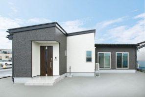 長岡市希望が丘「STORY 大開口と勾配天井で開放感のあるLDKの平屋」住宅完成見学会