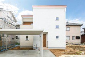 見附市学校町「家族が集まれる大きなバルコニーのある家」住宅完成見学会