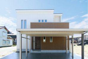 長岡市下山「GRANDE アーチの下がり壁でかわいらしさをプラスした収納力抜群の家」住宅完成見学会